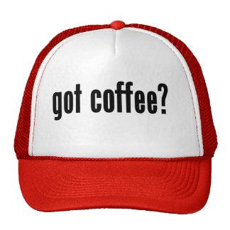 got coffee? mesh hat