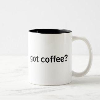 got coffee? Two-Tone mug
