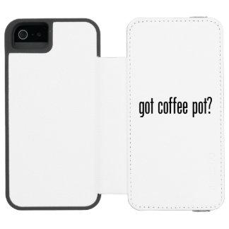 got coffee pot incipio watson™ iPhone 5 wallet case