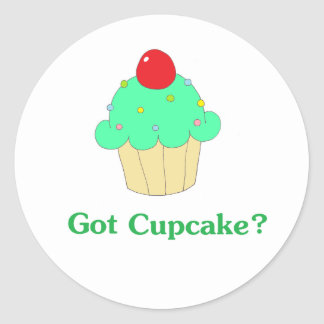 Got Cupcake Stickers