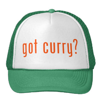 got curry? hats