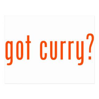 got curry postcards
