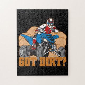 Got Dirt ATV Jigsaw Puzzle