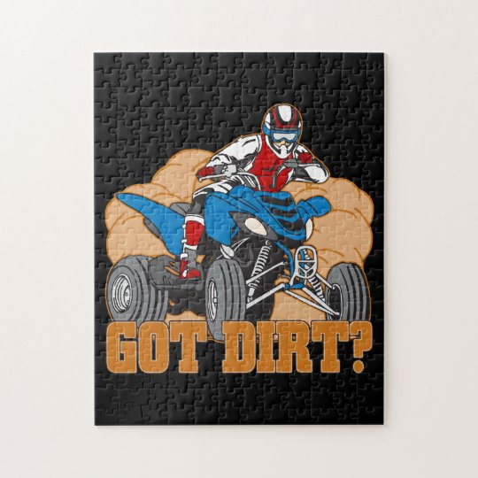 Got Dirt ATV Jigsaw Puzzle