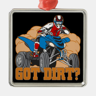 Got Dirt ATV Metal Ornament