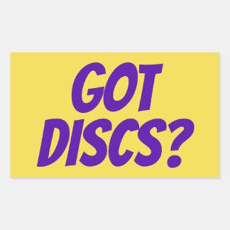 Got Discs? stickers