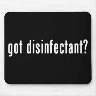 got disinfectant? mouse pad