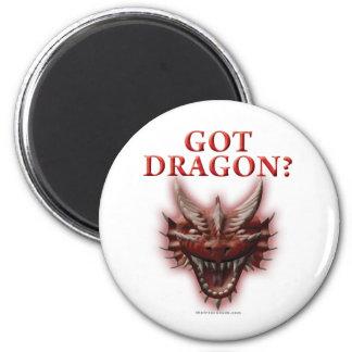 Got Dragon? 6 Cm Round Magnet
