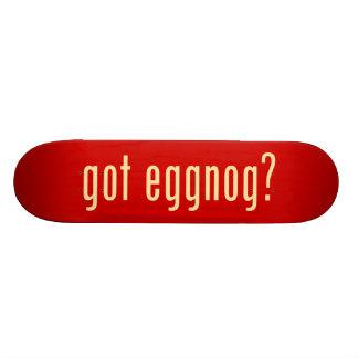 got eggnog? 19.7 cm skateboard deck