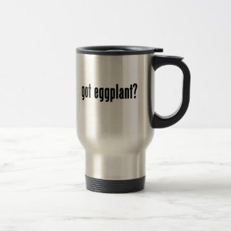 got eggplant? travel mug