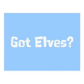 Got Elves Gifts Postcard
