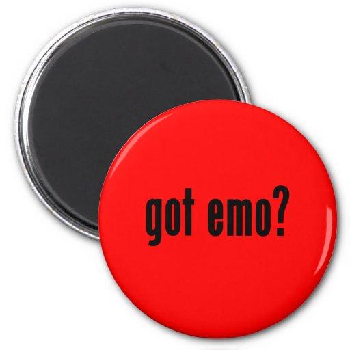got emo? refrigerator magnets