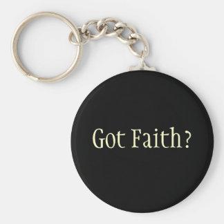 Got Faith? Basic Round Button Key Ring