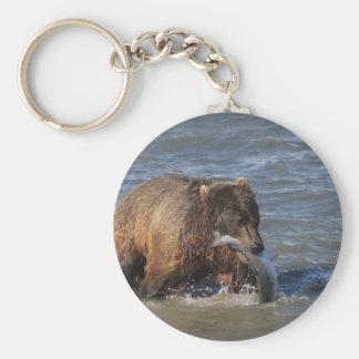 Got Fish? Alaska Brown Bear gifts Key Ring