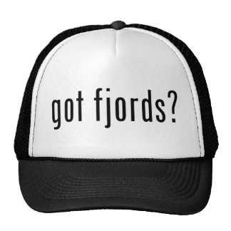 got fjords? hats