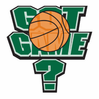 got game basketball design cut out