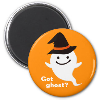 Got Ghost - Cute and Funny Happy Halloween Magnet