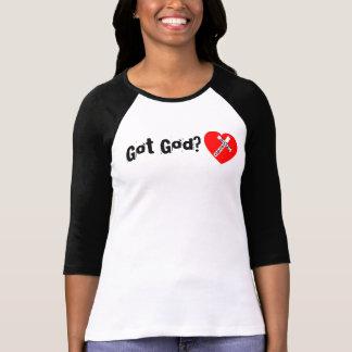 Got God? (behind) - Jesus Saves (Heart) Shirts