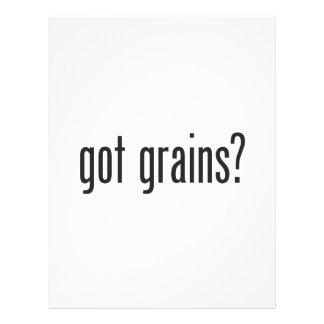 got grains personalized flyer