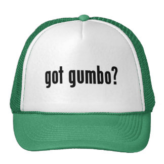 got gumbo? cap