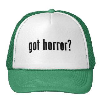 got horror? trucker hat