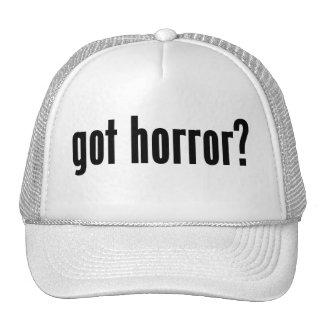 got horror? hats