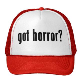 got horror? trucker hats