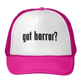 got horror? hat
