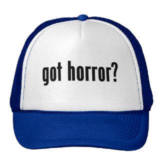 got horror? mesh hat