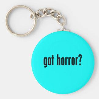 got horror? keychains