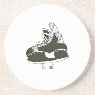 Got Ice? Hockey Skate Coaster