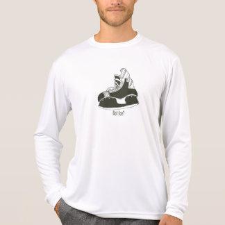 Got Ice? Hockey Skate Longsleeve Microfiber T-Shirt