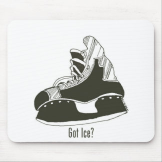 Got Ice? Hockey Skate Mousepad