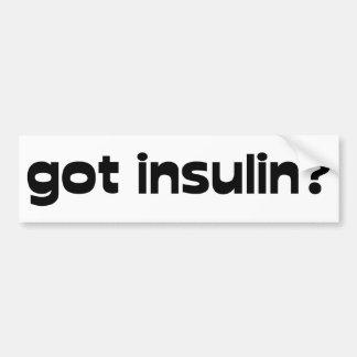 got insulin bumper sticker