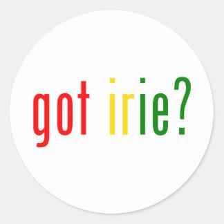 got irie? sticker