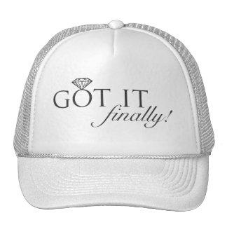 Got it - Finally Diamond Ring Trucker Hats