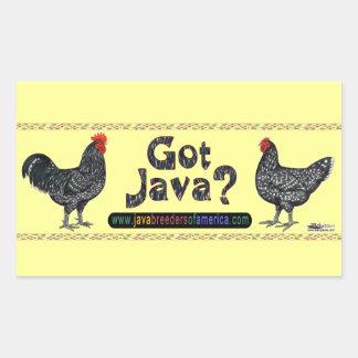 Got Java? Rectangle Sticker