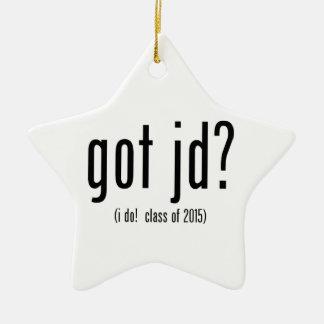 got jd? (i do! class of 2015) ceramic ornament