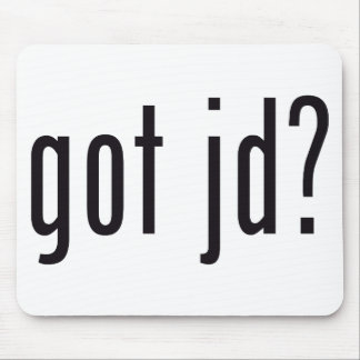 got jd mouse pads