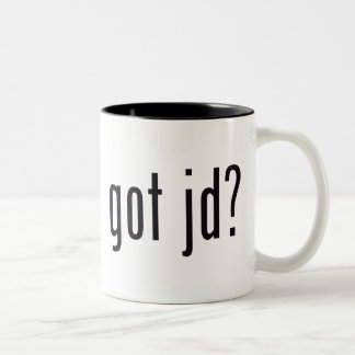 got jd? Two-Tone mug