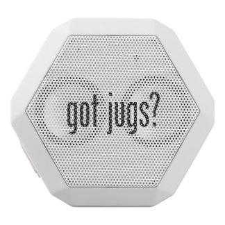 got jugs white boombot rex bluetooth speaker