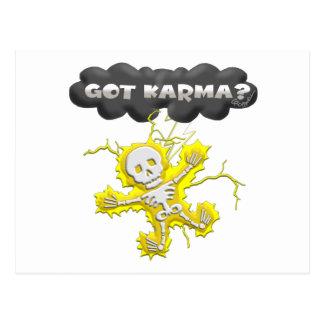 Got Karma Postcard