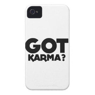 Got Karma, text words iPhone 4 Case-Mate Case