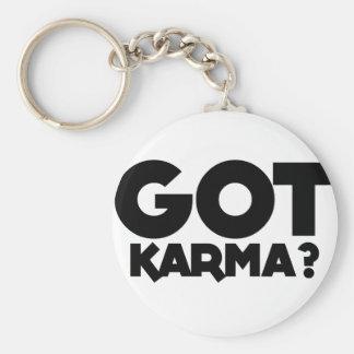 Got Karma, text words Key Ring