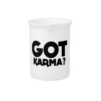 Got Karma, text words Pitcher