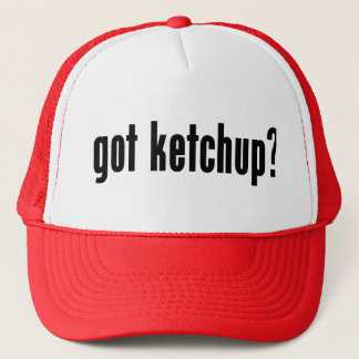 got ketchup? trucker hat