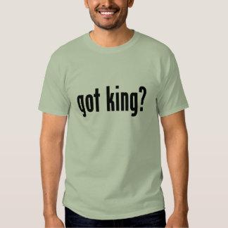 got king? tee shirts