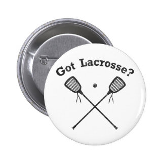 Got Lacrosse 6 Cm Round Badge