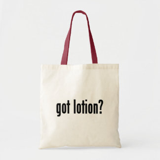 got lotion? tote bag