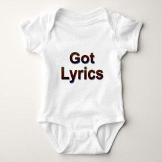 Got Lyrics2 Baby Bodysuit